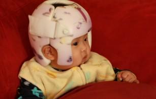 Zoe's helmet